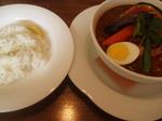 ガラムマサオ スープカレー マニアスープ