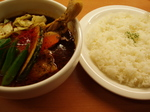 curry cafe Miracle(ミラクル) チキンベジタベル
