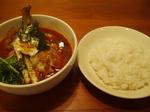 こうらく チキン野菜 スープカレー