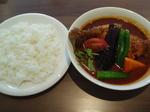 チキンと野菜のカリー