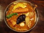 挽肉納豆と野菜のカリィ