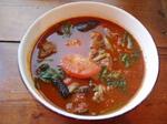 やわラム・トマトとほうれん草のスープカレー