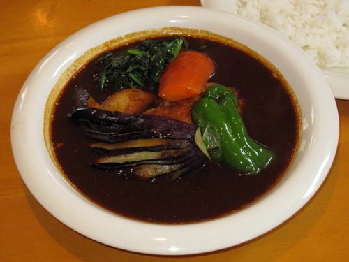 スリランカ風チキン野菜