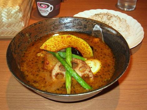居酒屋スープカレー 知床鶏のスープカレー