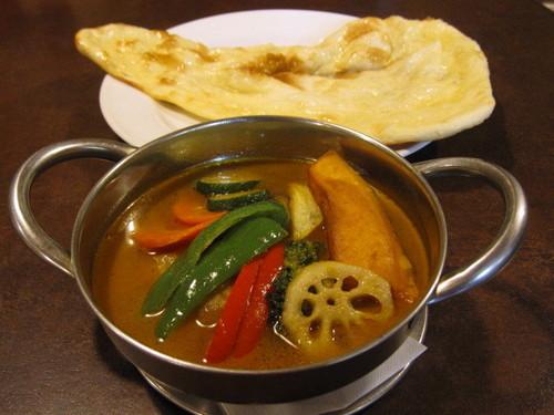 ナマステー,スープカレー,野菜