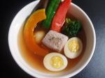 角煮と野菜のスープカレー