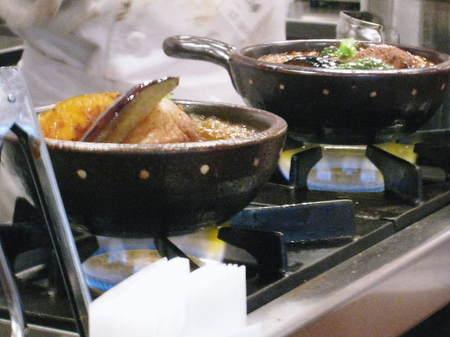 土鍋ハンバーグ