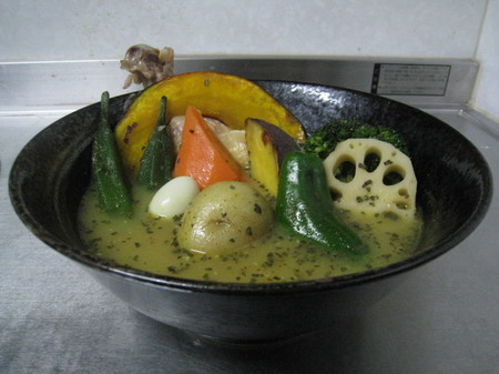 オリジナルスープカレー レシピ